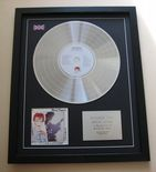 DAVID BOWIE - Scary Monsters CD / LP Platinum Presentation Disc